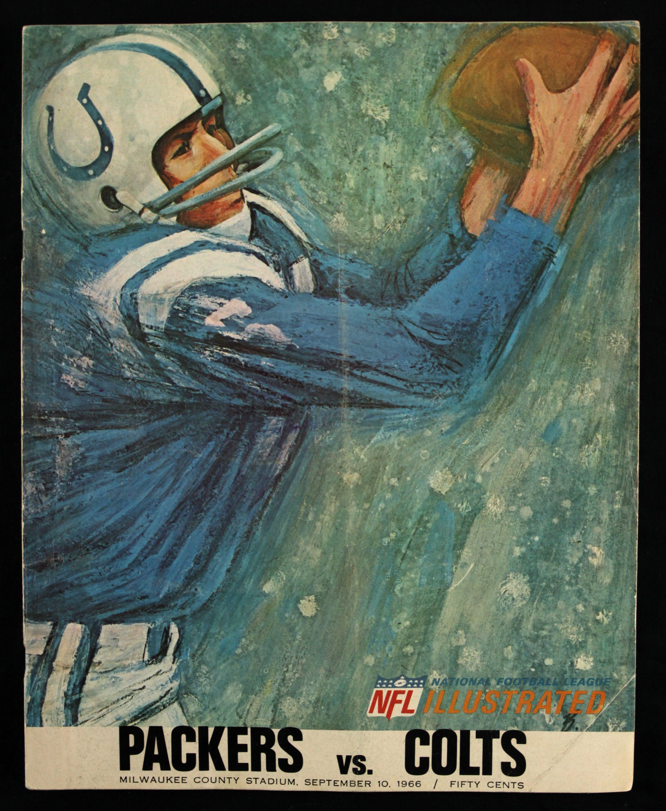 Lot Detail - 1966 Green Bay Packers Baltimore Colts