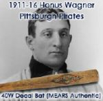 1911-16 Honus Wagner Pittsburgh Pirates JF Hillerich & Sons 40W Louisville Slugger Bat (MEARS Authentic)