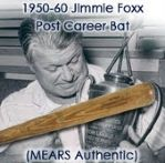 1950-60 Jimmie Foxx (Post Career) H&B Louisville Slugger Professional Model Game Used Bat (MEARS Authentic)