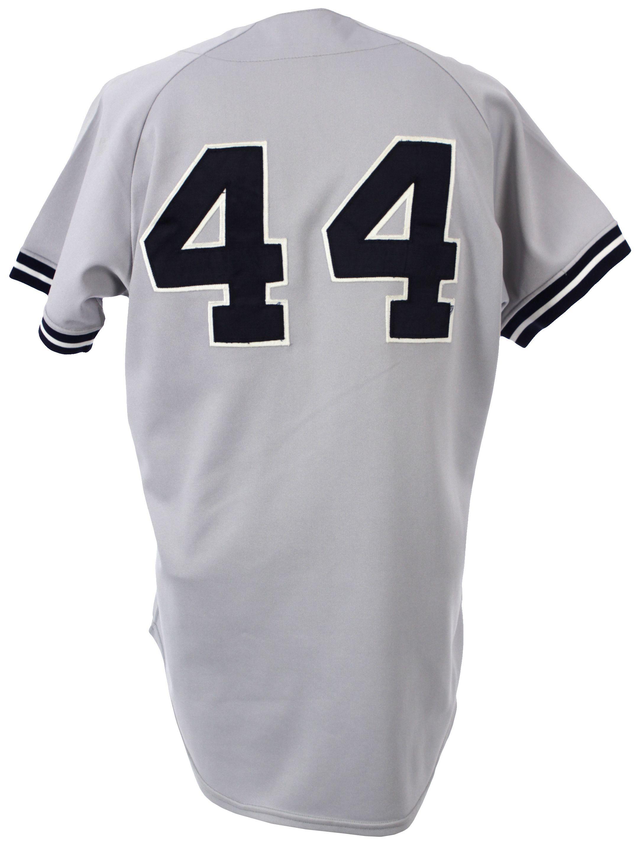 Lot Detail - 1981 Reggie Jackson New York Yankees Game Worn Road ... b0940b3f663