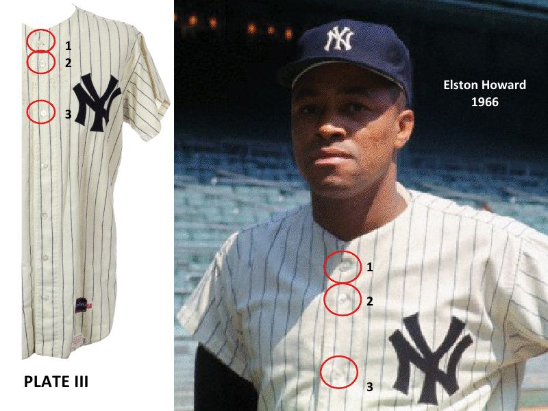 d5b2c7038 Lot Detail - 1966 Mickey Mantle New York Yankees Game Worn Home Jersey -  Collection of Clete Boyer (Boyer LOA   MEARS A6