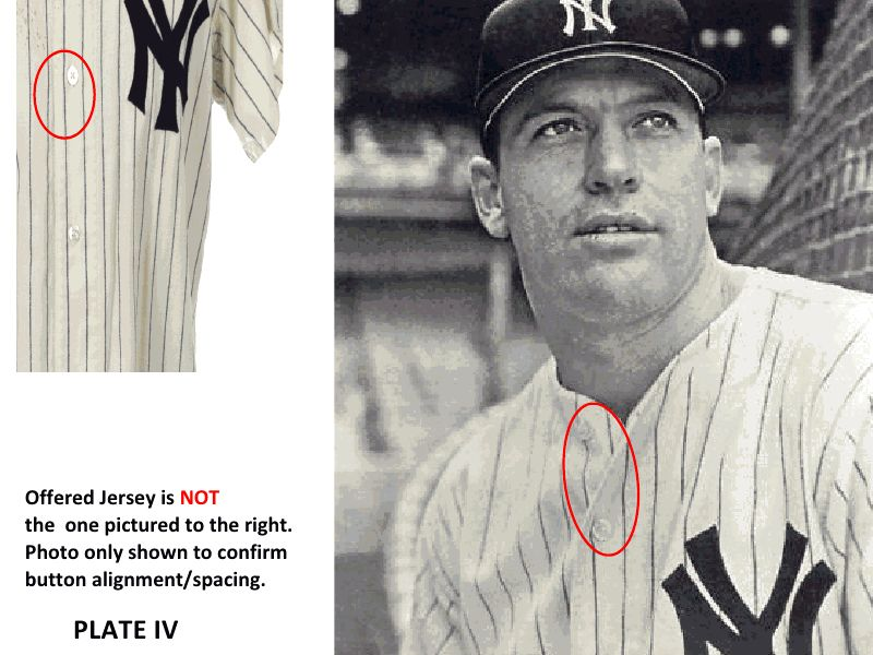 buy online 95e05 67cab Lot Detail - 1966 Mickey Mantle New York Yankees Game Worn ...