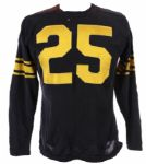 1950s Durene #25 Wilson Game Worn Football Jersey (MEARS LOA)