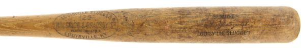 1965-68 Carl Yastrzemski Boston Red Sox H&B Louisville Slugger Professional Model Team Index Bat (MEARS LOA)
