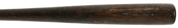 "1926-28 Tom Gulley Zinn Beck Extra Special Professional Model Game Used Bat (MEARS LOA) Sidewritten ""Red Holt 4-12-28"""