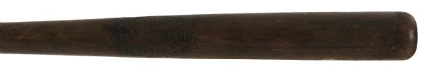 1917-21 Blank Barrel H&B Louisville Slugger Professional Model Game Used Bat (MEARS LOA)