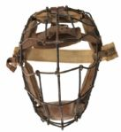 1880s-1905 Vintage Game Worn Catchers Mask (Excellent Condition)