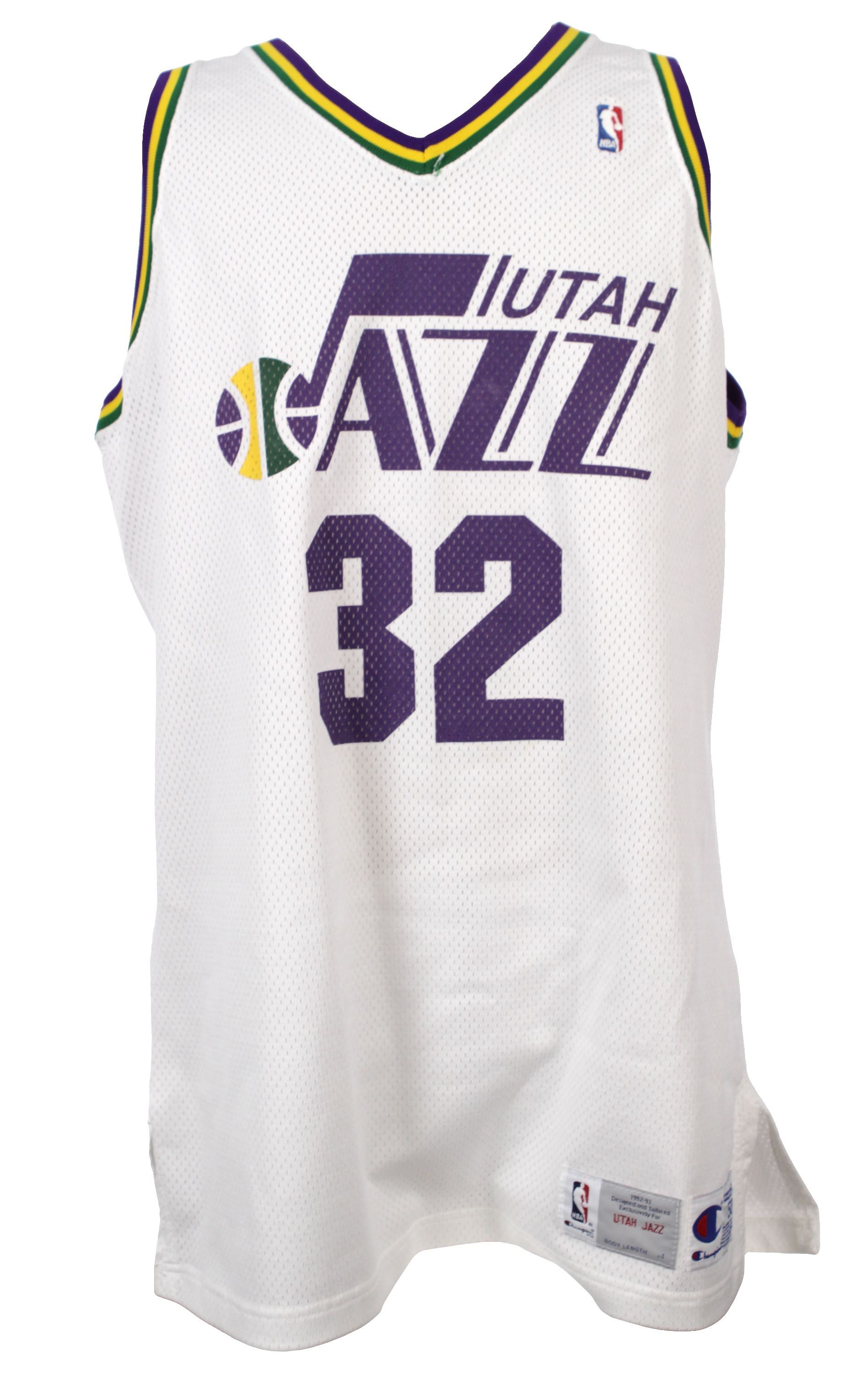 98304ac61 1992-93 Karl Malone Utah Jazz Jersey (MEARS LOA). Touch to zoom
