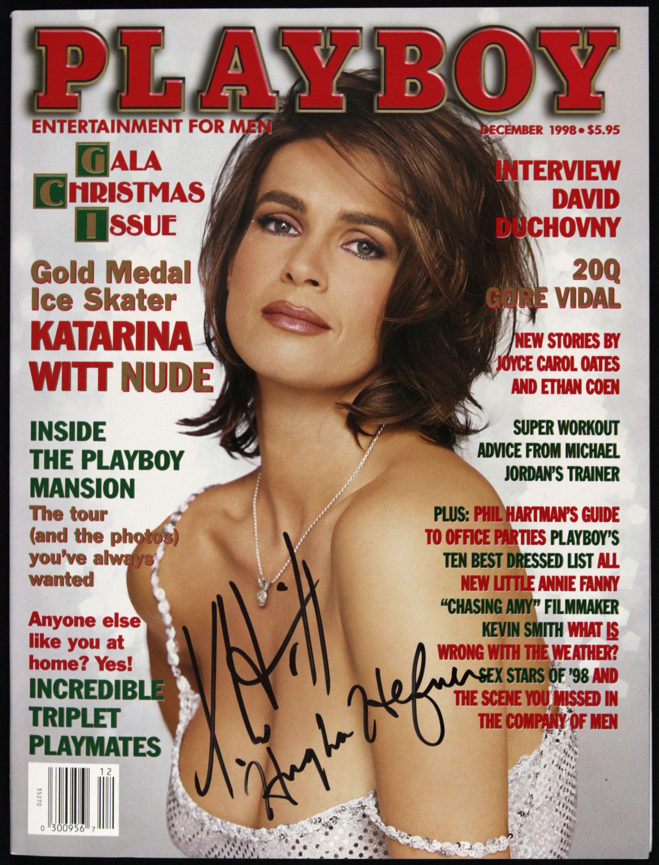 Playboy kati witt Katarina Witt: