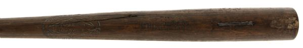1920s Cliff/Rolla Daringer Hilton Collins Co. Professional Model Game Used Bat (MEARS LOA)