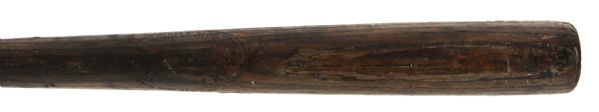 "1922 C. McDonnell J.F. Hillerich & Son Co. Professional Model Game Used Bat (MEARS LOA) Sidewritten ""The Texas Co. 2-12-22"""