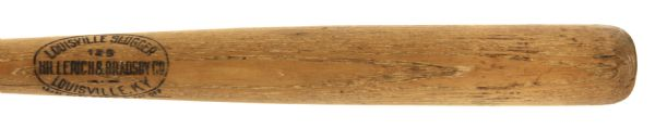 "1923 Thomas J. Conway Kingsport Indians H&B Louisville Slugger Professional Model Game Used Bat (MEARS LOA) Sidewritten ""T.J. Conway 4-24-23 Kingsport B.B.C."""