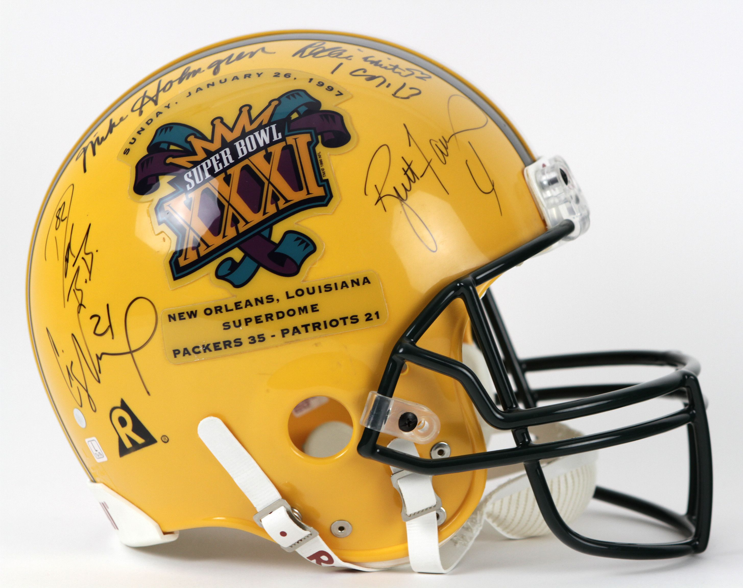 Lot Detail - 1997 Green Bay Packers Signed Full Size Commemorative ... 35744dd92