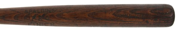 1924 Jimmy Dykes Philadelphia Athletics Spalding Professional Model Game Used Bat (MEARS LOA)