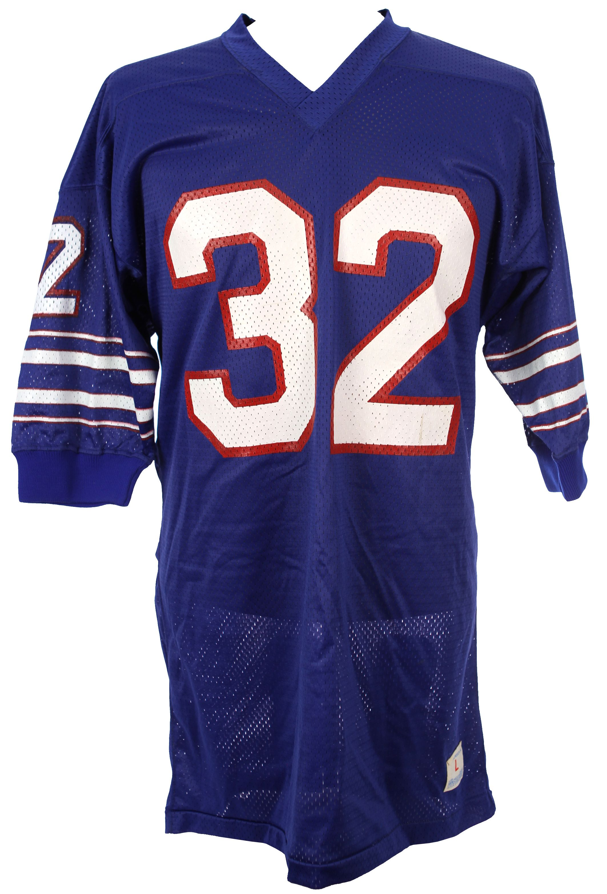 reputable site 22aed 4f4e1 Lot Detail - 1970's (late) O.J. Simpson Buffalo Bills Jersey