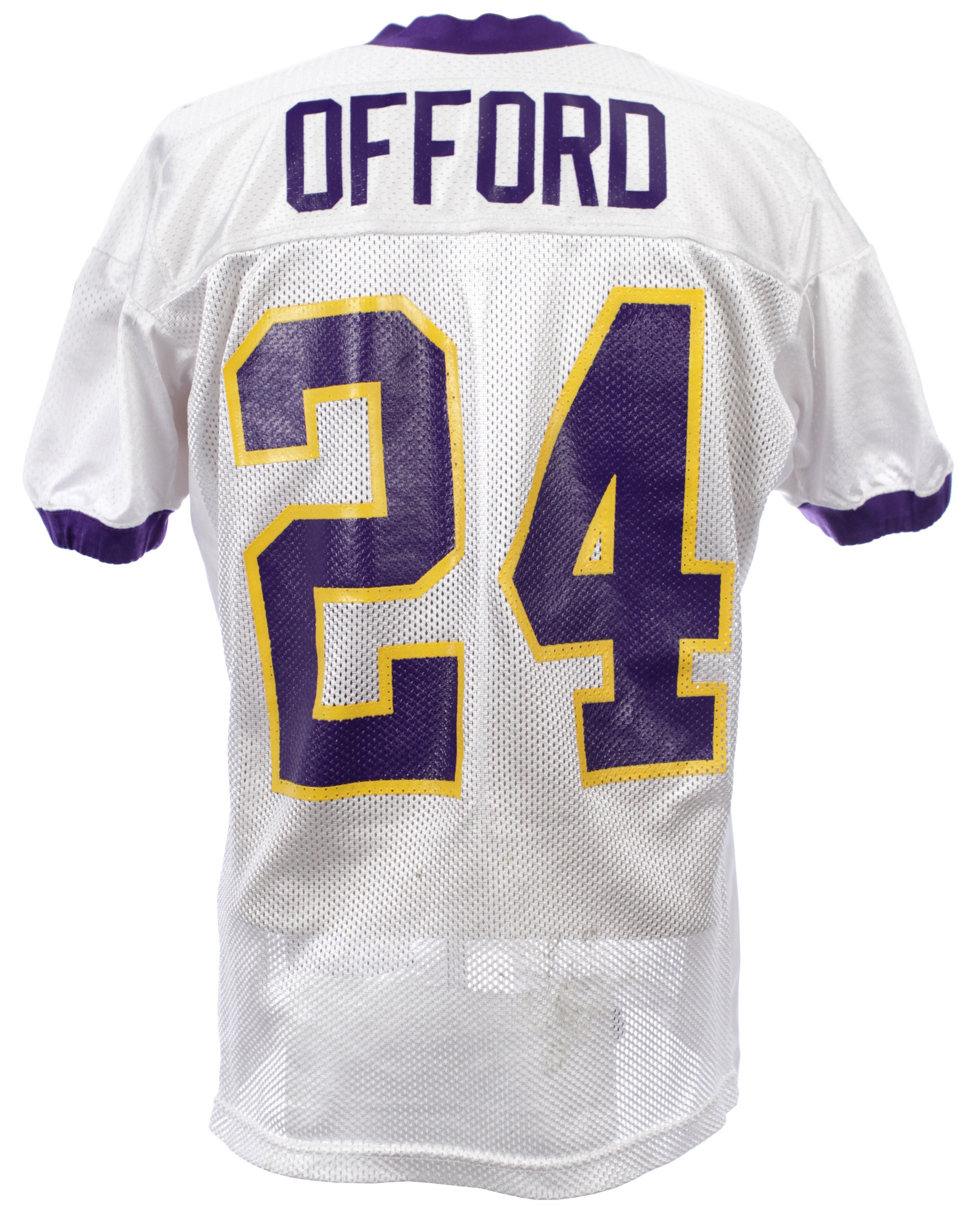 Jersey Willie Vikings - Lot Minnesota Offord 2005 Practice Loa mears Detail