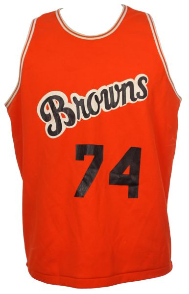 1976-79 Mike St. Clair Cleveland Browns Basketball Jersey