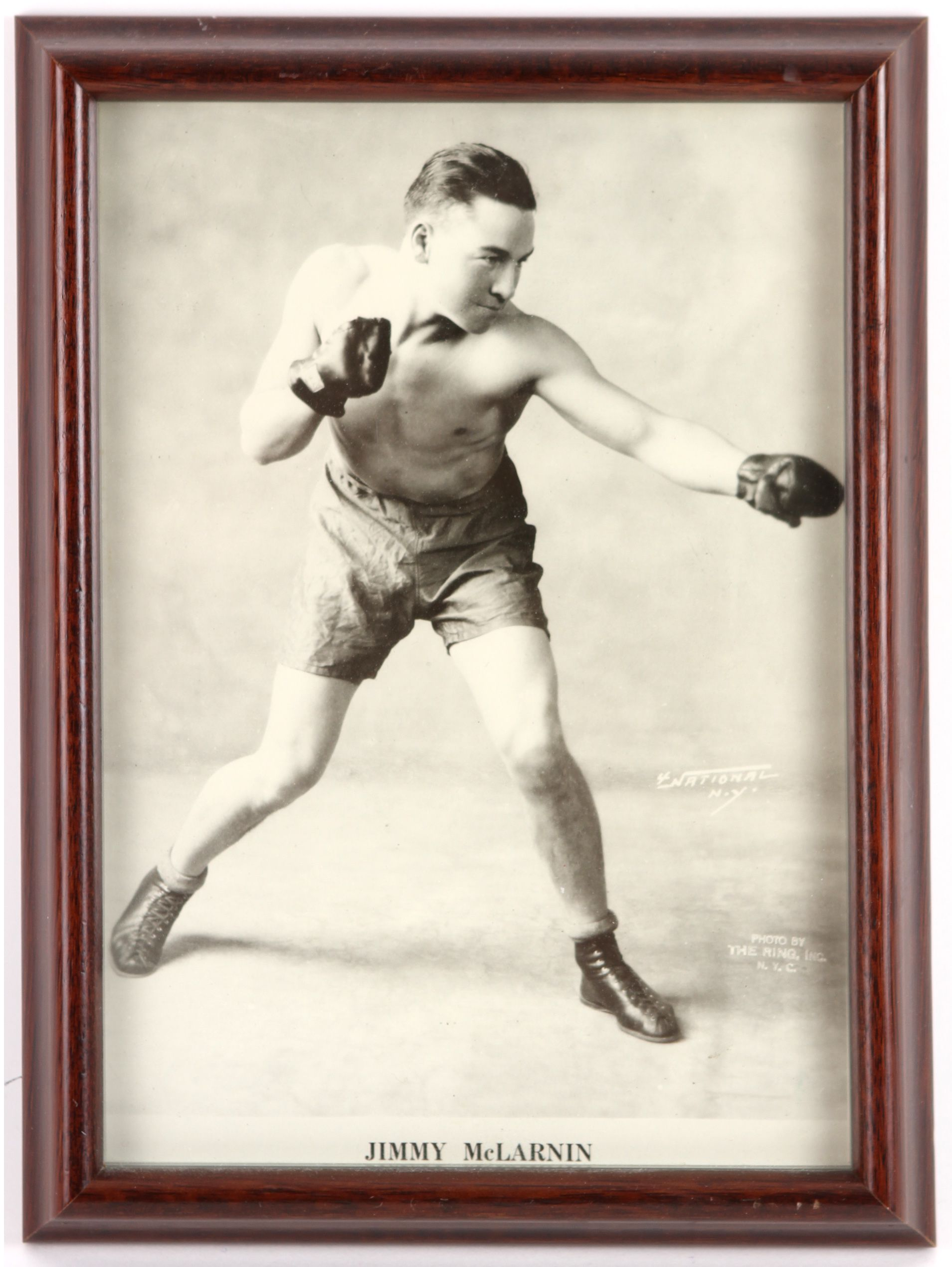 Lot Detail - 1910\'s-90\'s Boxing Framed Photo & Broadside Collection ...