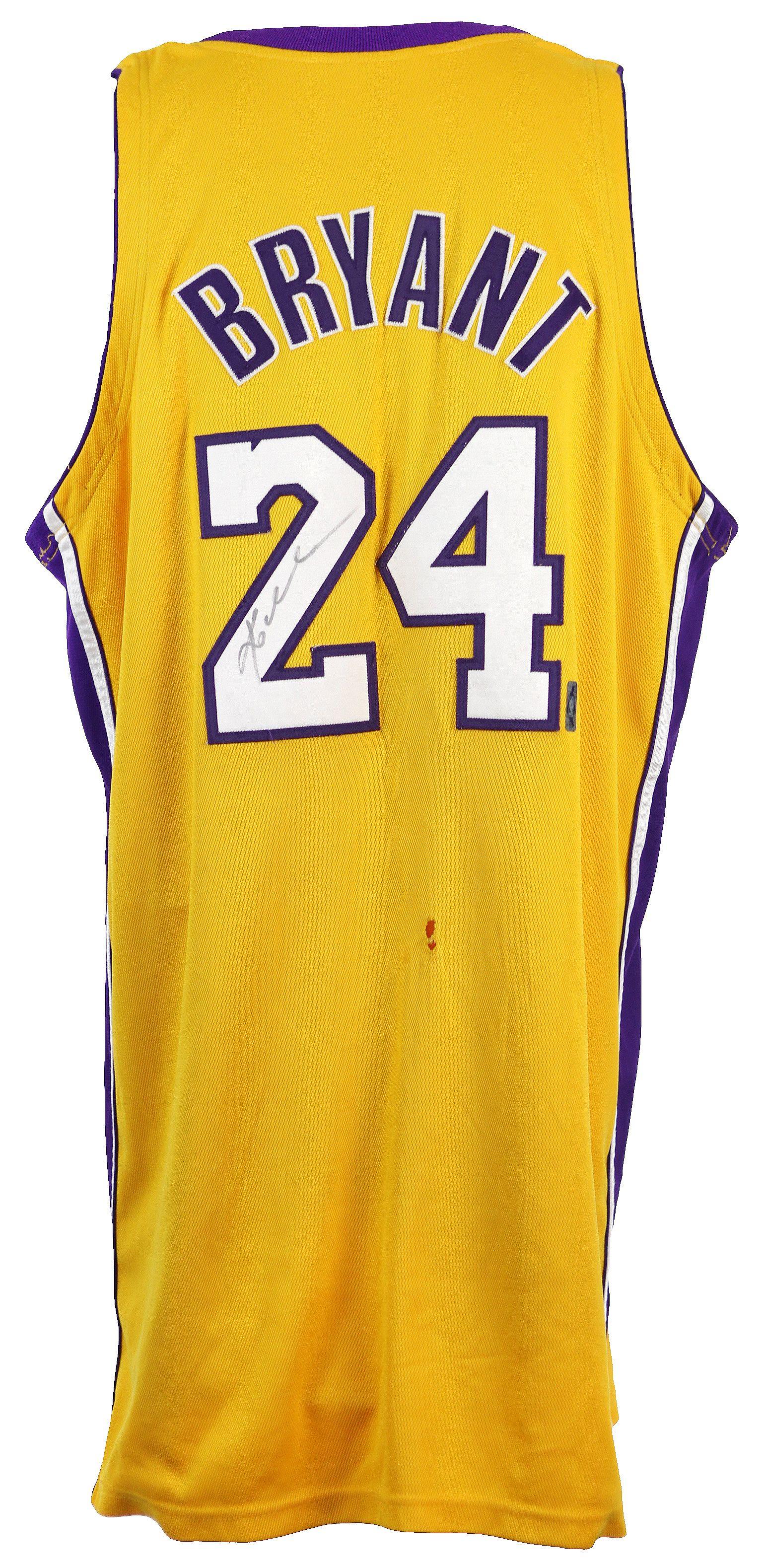 b8dddf3edc7 Lot Detail - 2007-08 Kobe Bryant Los Angeles Lakers Signed Game Worn ...