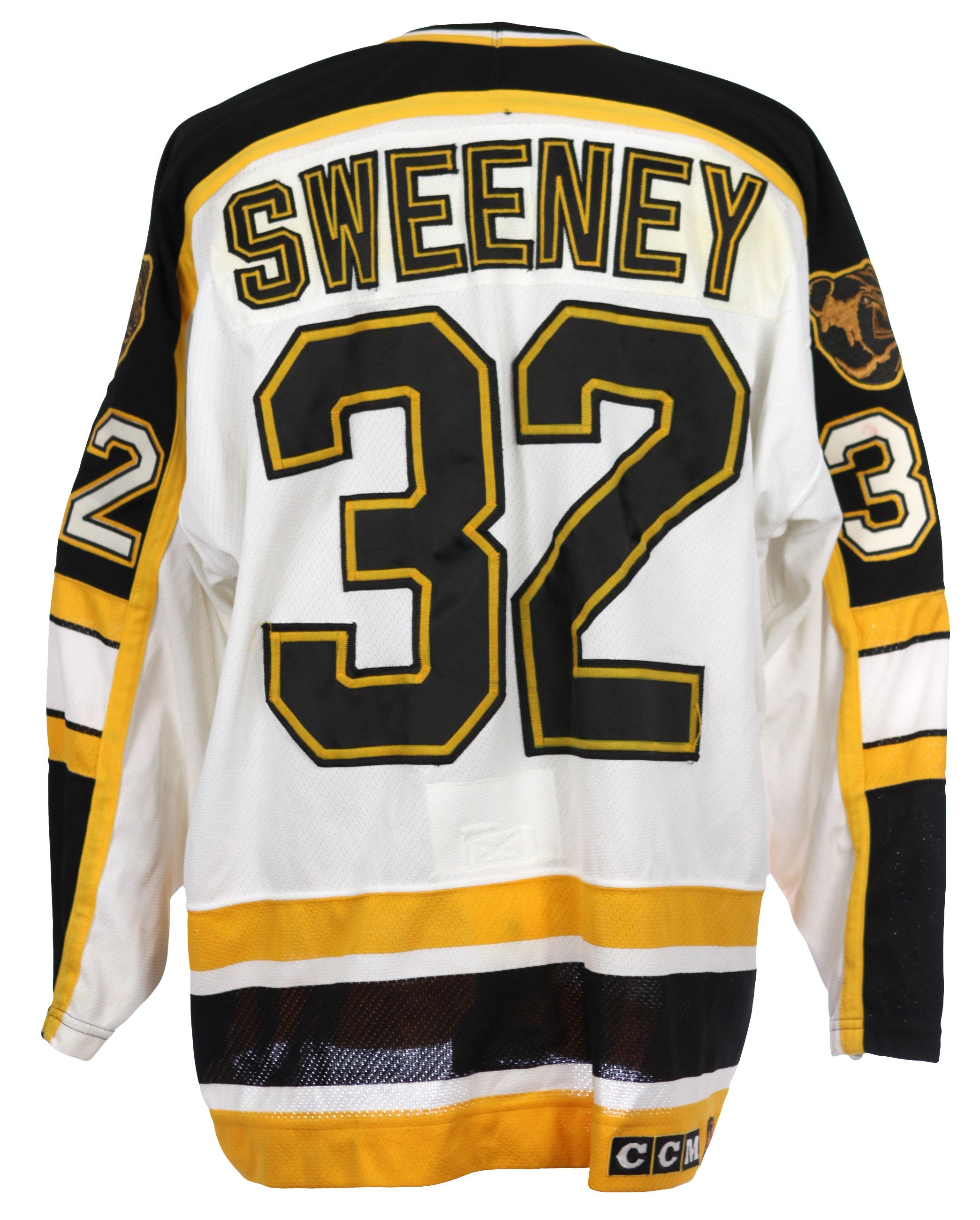 check out 8d061 55db8 Lot Detail - 1995-96 Don Sweeney Boston Bruins Game Worn ...