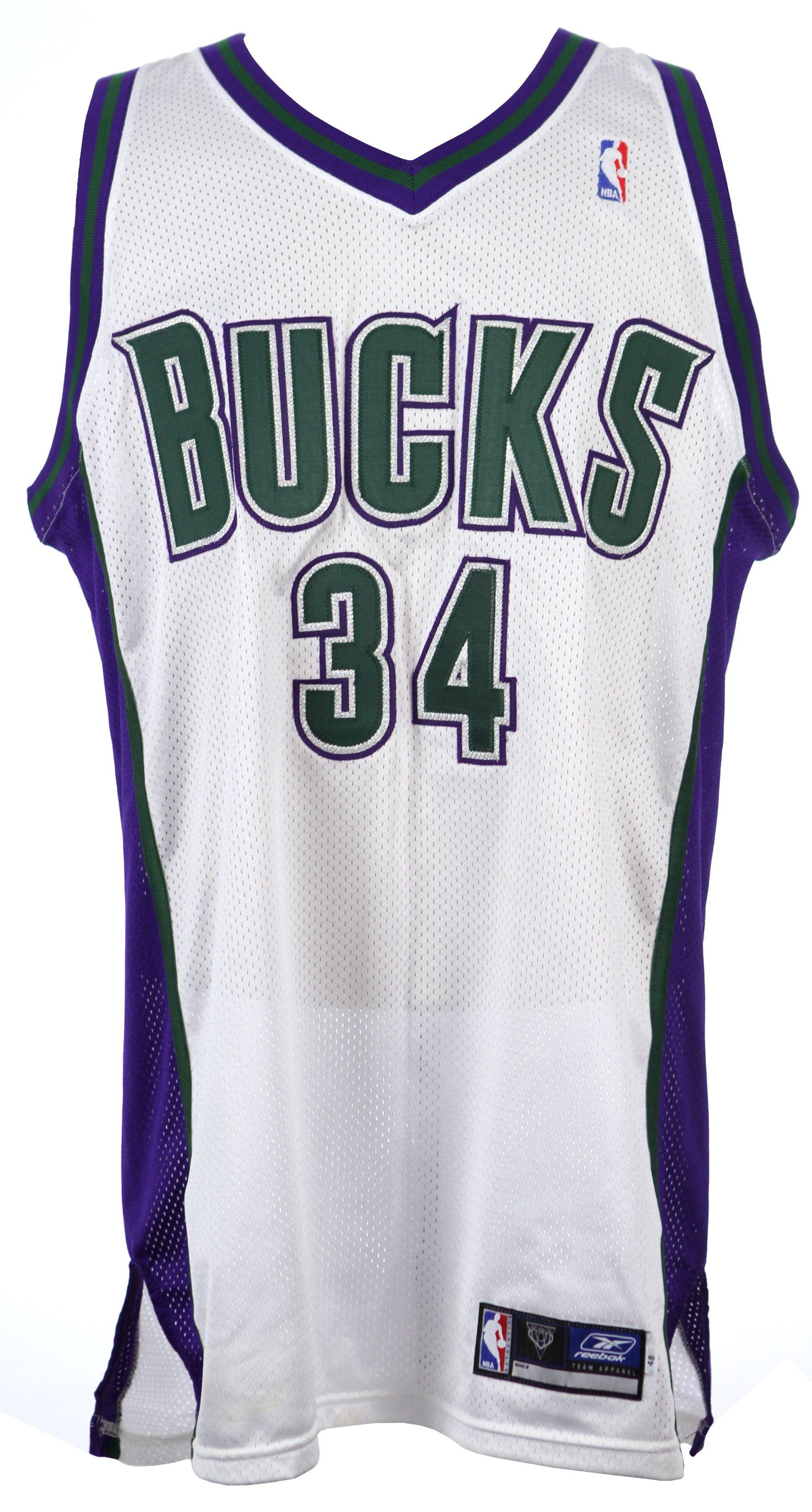 ray allen bucks jersey