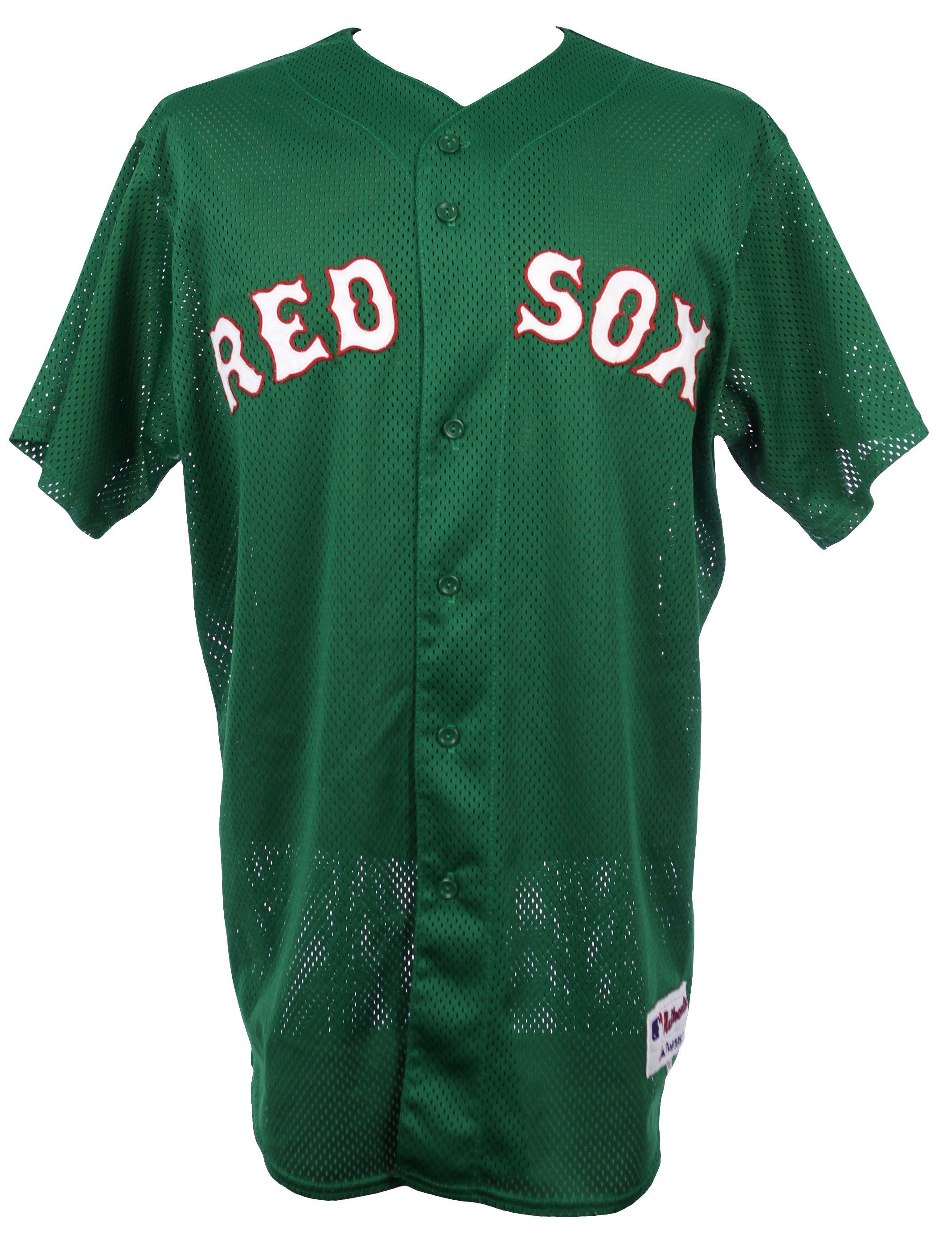 buy online 8417f 9bcf8 Lot Detail - 2005 Edgar Renteria Boston Red Sox Game Worn St ...