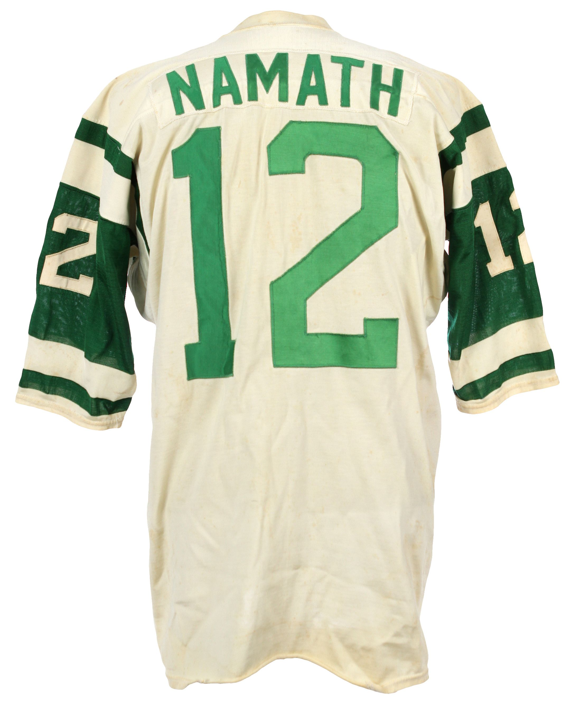 best service aaa37 5f25b Lot Detail - 1968-69 Joe Namath New York Jets Road Game Worn ...