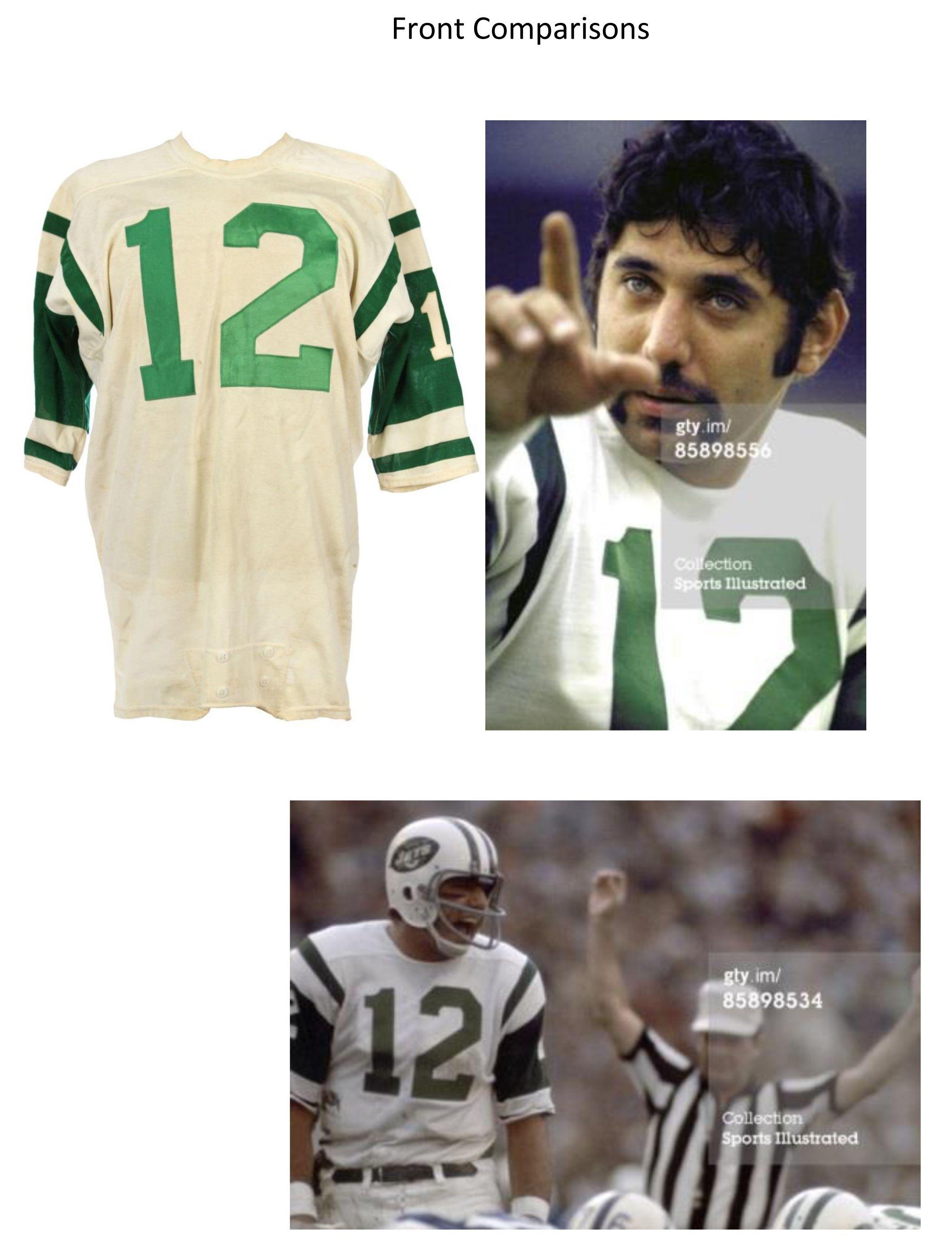 best service 4be5a cf21f Lot Detail - 1968-69 Joe Namath New York Jets Road Game Worn ...