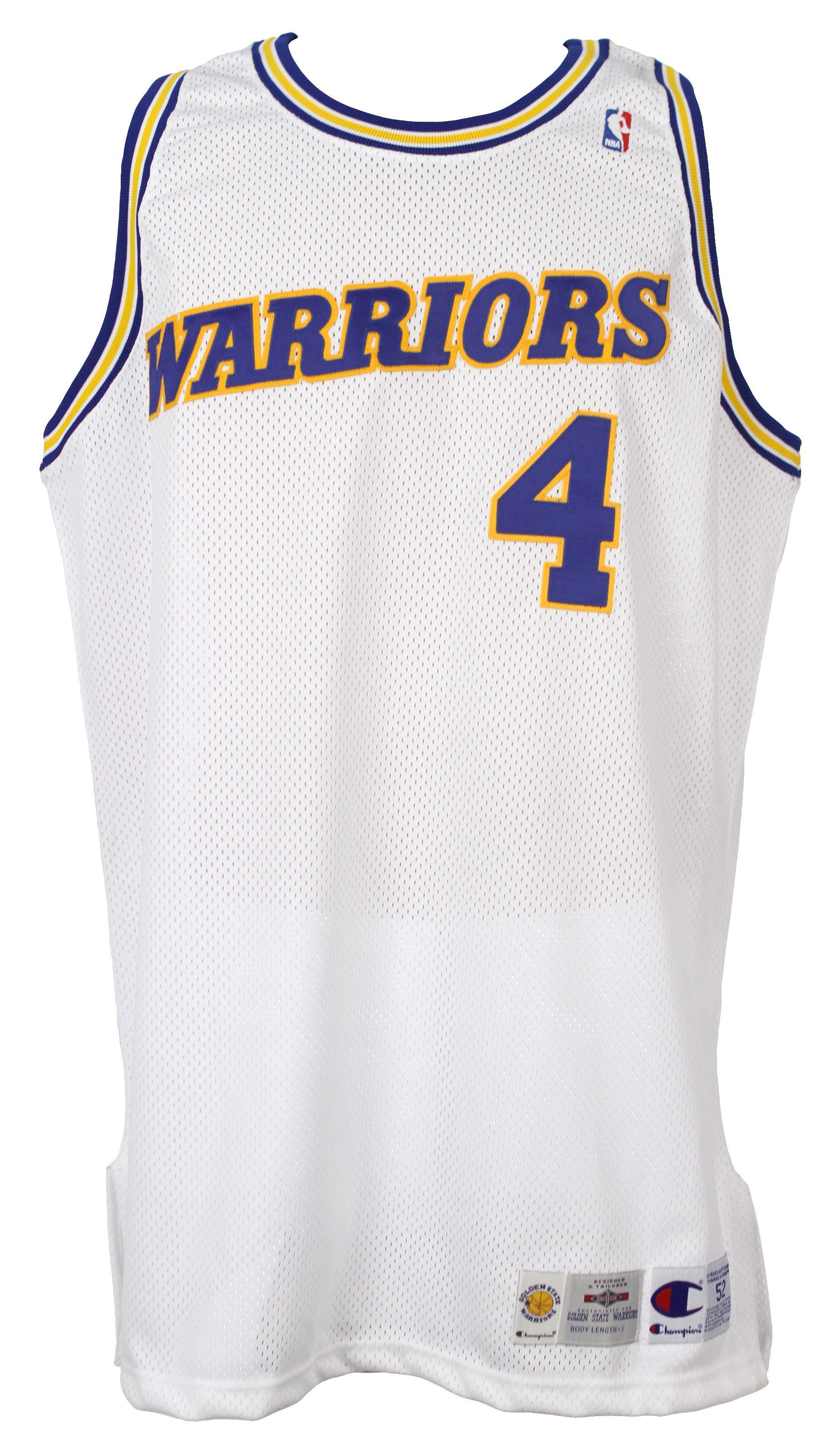 pretty nice 0ebcd cef11 Lot Detail - 1994-95 Chris Webber Golden State Warriors Game ...