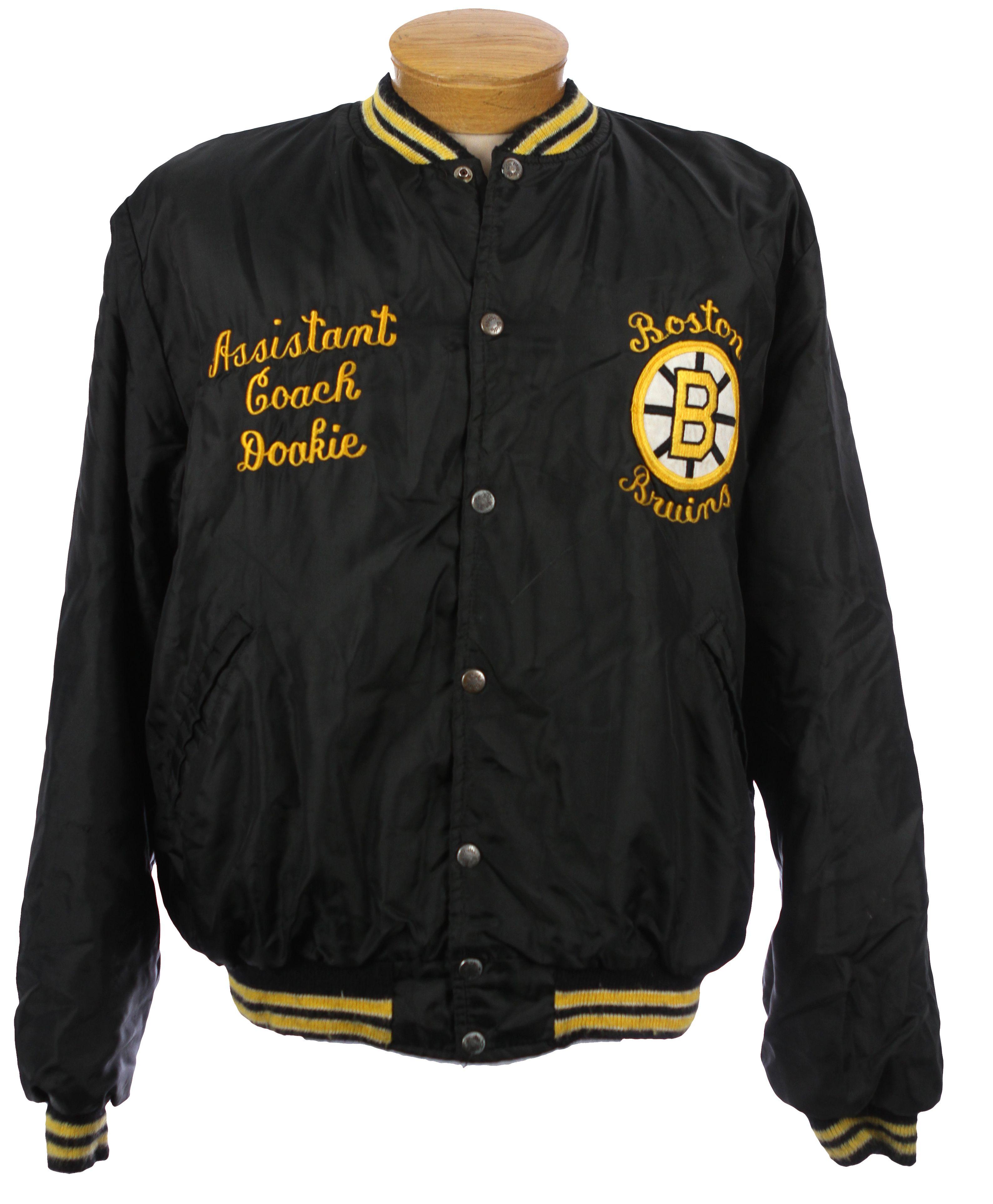 "1981-85 Gary Doak Boston Bruins ""Assistant"