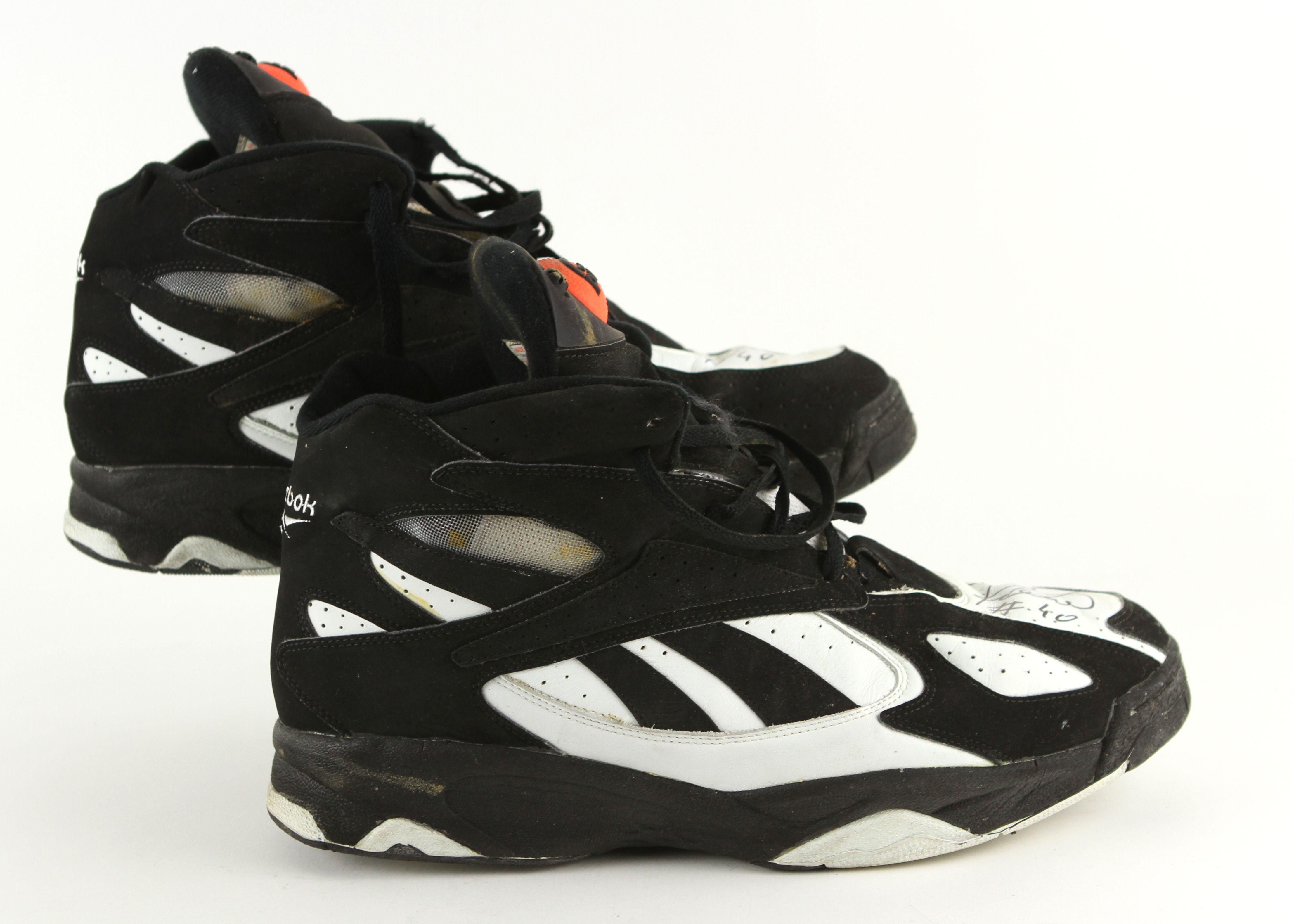 cheap for sale exclusive shoes classic fit Lot Detail - 1994-97 Dino Radja Boston Celtics Signed Reebok ...