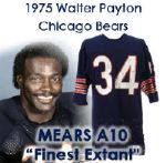 "1975 Walter Payton Chicago Bears Unrepaired Game Worn Jersey - ""Earliest/Finest Extant!"" From the Collection of ""Chicken"" Willie Thompson (MEARS A10)"