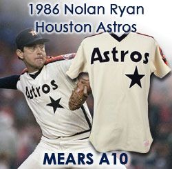 3b434adbe47 1986 Nolan Ryan Houston Astros Game Worn Home Jersey (MEARS A10) NL West  Champions. Touch to zoom