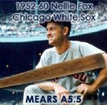 1952-60 Nellie Fox Chicago White Sox H&B Louisville Slugger Professional Model Game Used Bat (MEARS A5.5)