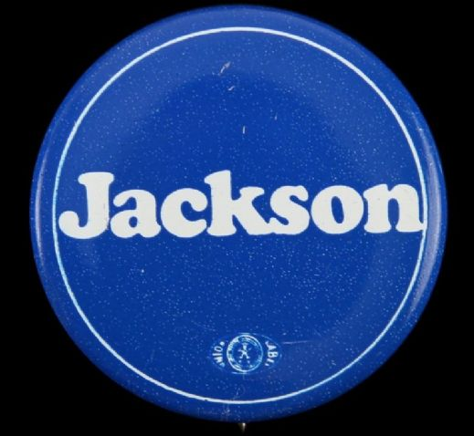"1984-88 Jesse Jackson 1 3/4""  Presidential Campaign Pinback Button"