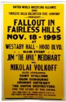 "1995 Wrestling Poster Jim ""The Anvil"" Neidhart vs. Nikolai Volkoff 17"" x 26"""