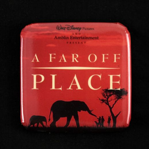 "1993 A Far Off Place 2"" x 2"" Movie Button"