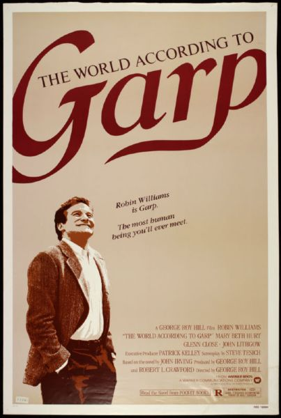 "1982 The World According to Garp Robin Williams 1-Sheet(27"" x 41"")Original Movie"