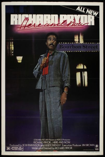 "1983 Richard Pryor Here and Now 1-Sheet (27"" x 41"") Original Movie Poster"