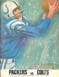 1966 Green Bay Packers vs. Baltimore Colts Program