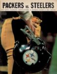 1968 Steelers vs. Packers Football Program