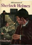 1955 Adventures of Sherlock Holmes Hardcover Arthur Conan Doyle Whitman