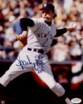 1972-78 New York Yankees Sparky Lyle Autographed 8x10 Color Photo (JSA)