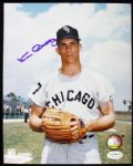 "1963-65 Ken Berry Chicago White Sox Signed 8"" x 10"" Color Photo (JSA)"