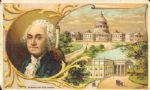 1882 George Washington Arbuckle Brothers trade card (District of Columbia)