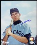 1962-70 Ken Berry Chicago White Sox Signed 8 x 10 Color Photo (JSA)