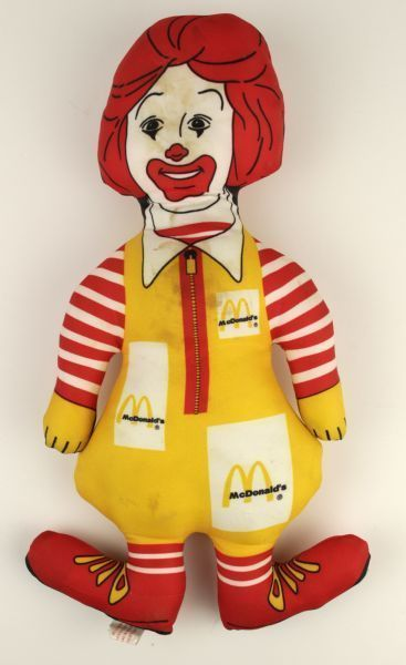 1983 Ronald McDonald Plush Doll