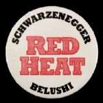 "1988 Red Heat 3"" Movie Pinback Button"