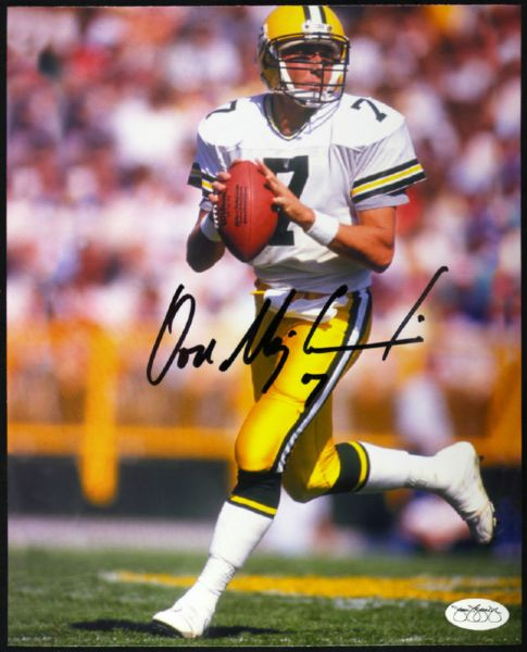 1987-92 Don Majkowski Packers Signed Autographed 8 x 10 (JSA Hologram)