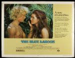 "1980 The Blue Lagoon Half Sheet (22"" x 28"") Original Movie Poster Brooke Shields"